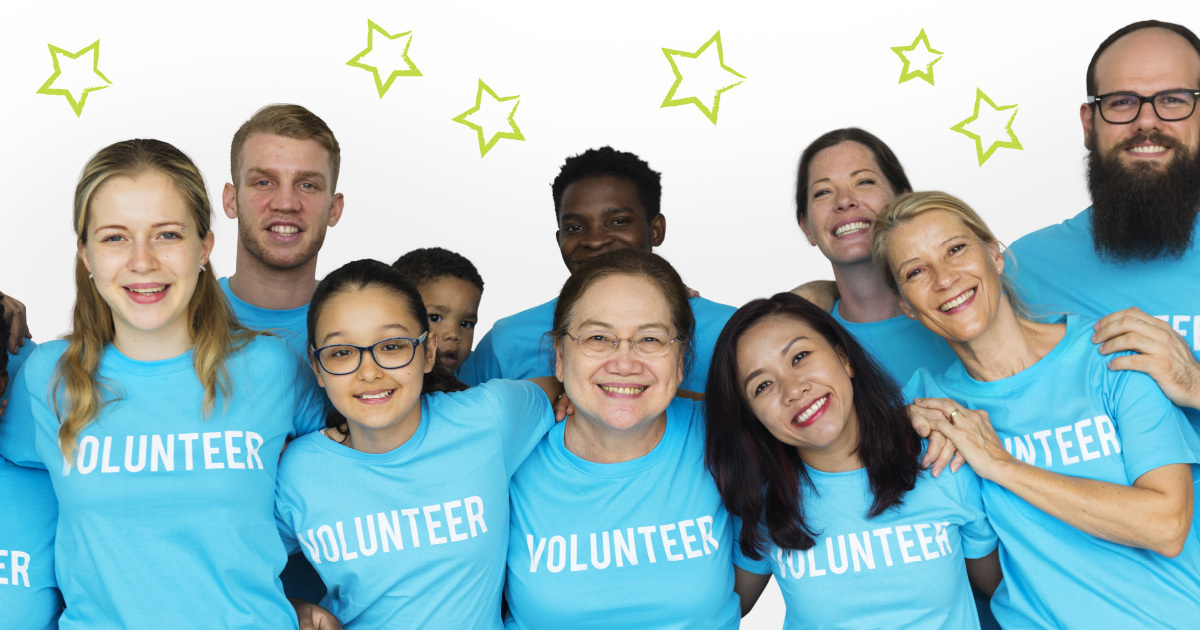 Blog header image for Don't Forget the Volunteers!